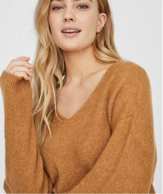 V-Neck soft jumper