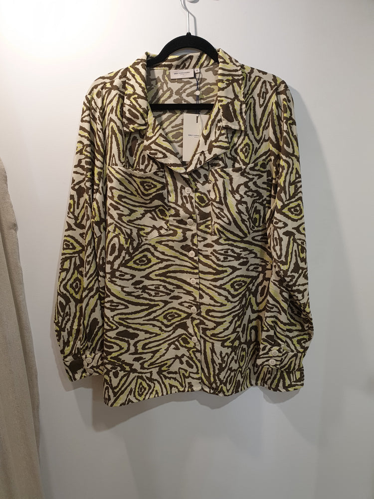 Jungle Print oversize shirt
