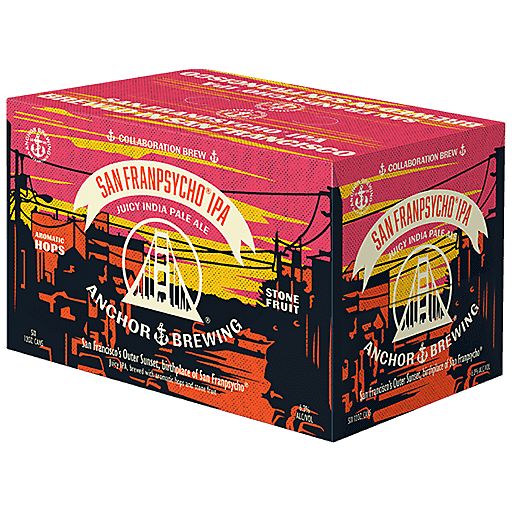 SAN FRANPSYCHO ® IPA SIX PACK ANCHOR BREWING