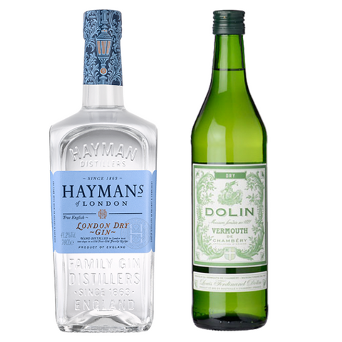 Martini Dolin Dry & Hayman´s London Dry