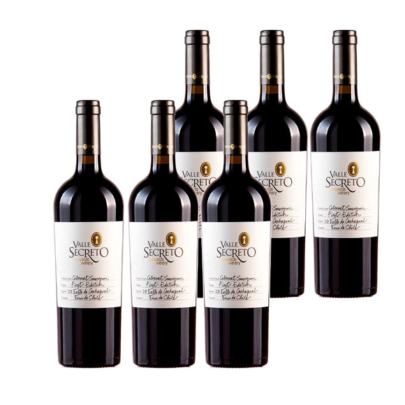 Valle Secreto FIRST EDITION CABERNET SAUVIGNON X6
