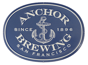 PLACA DE ADORNO ANCHOR BREWING METALICA