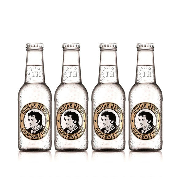 Thomas Henry Elderflower Tonic Four Pack