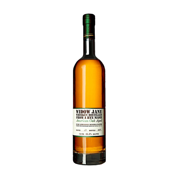 Widow Jane Oak Aged Rye Whiskey