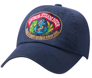 Gorra de béisbol Anchor Steam Beer (azul)