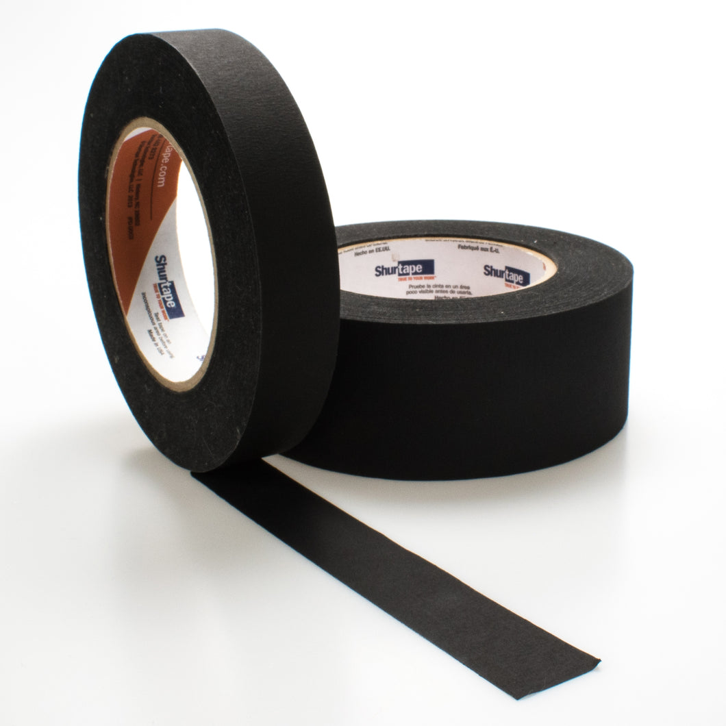 Opaque Photo Black Paper Tape by Shurtape