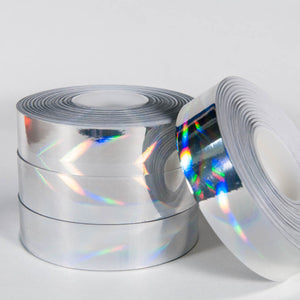 Rainbow Vortex Holographic Tape