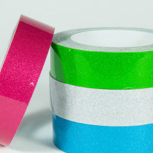 Transparent Glitter Tape