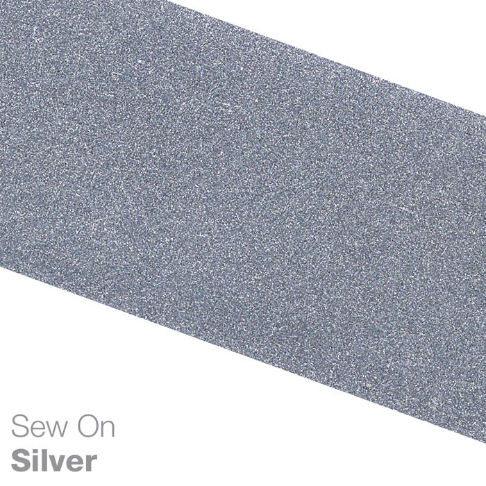 Sew-on Silver Reflective Fabric Tape (ANSI Certified)