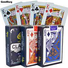 Load image into Gallery viewer, PVC Poker Cards Waterproof Texas Hold'em Playing Cards  Black Jack Plastic Game Card Poker Game Board Game Card Creative Gift