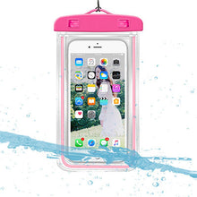 Load image into Gallery viewer, Waterproof Phone Pouch Drift Diving Swimming Bag Underwater Dry Bag Case Cover For Phone Water Sports Beach Pool Skiing 6 inch