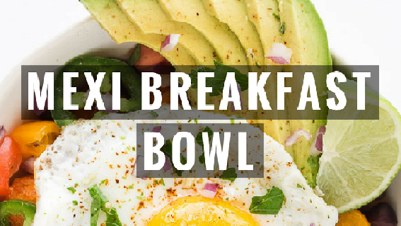 Low Carb Mexican Breakfast Bowl