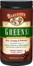 Load image into Gallery viewer, Barleans Chocolate Silk Greens - Chocolate