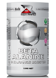 Body Ripped Beta Alanine - Endurance Booster