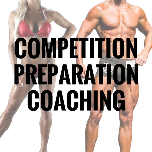 Competition Preparation Coaching (Deposit)
