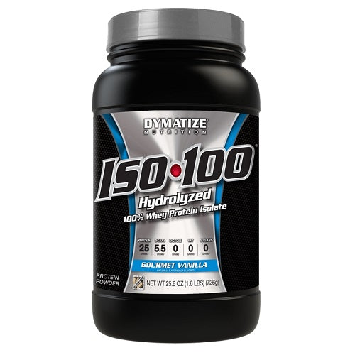 Dymatize ISO100 - 100% Hydrolyzed Whey Protein Isolate