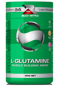 Body Ripped L-Glutamine - Immune and Recovery Booster