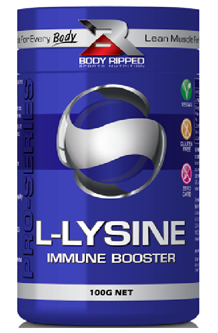 Body Ripped L-Lysine - Anti-Viral and Immune Booster