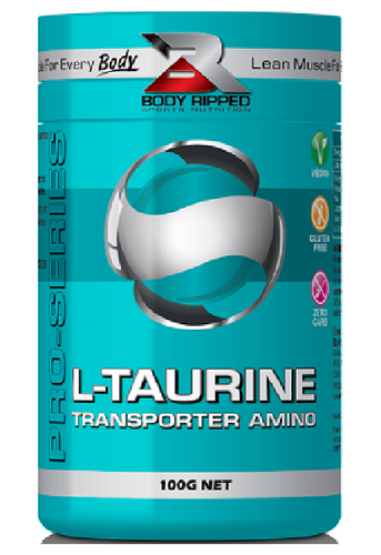 Body Ripped L-Taurine - Blood Sugar Aid