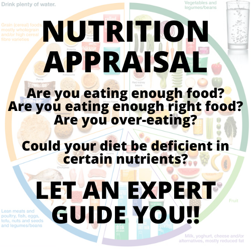 NUTRITIONIST APPRAISAL SESSION