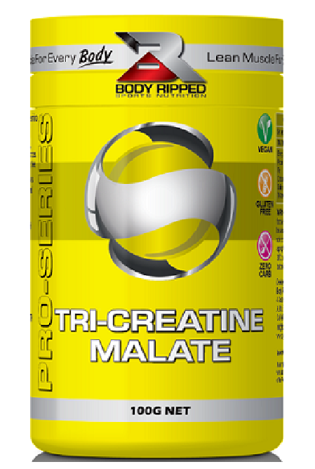 Body Ripped Tri Creatine Malate - Strength Booster