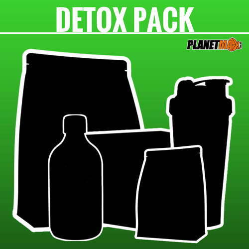 Detox Supplement and Diet Stack