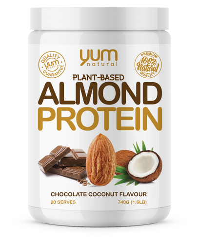 YUM NATURAL ALMOND PROTEIN