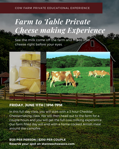 Cow Farm to Table Private Experience