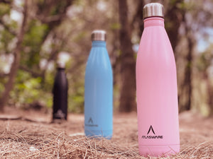 Atlasware double-walled drink bottles are scientifically proven to keep drinks hot for 18 hours and cold for 24 hours. high-grade 18/8 grade stainless steel, designed to withstand severe shocks and mechanical stress practically unbreakable and resist dent