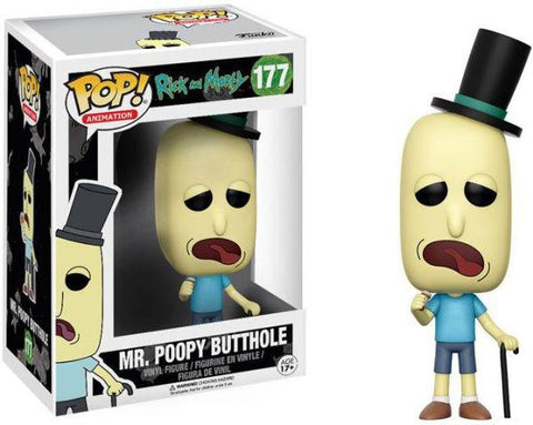 POP Animation: R&M - Mr. Poopy Butthole
