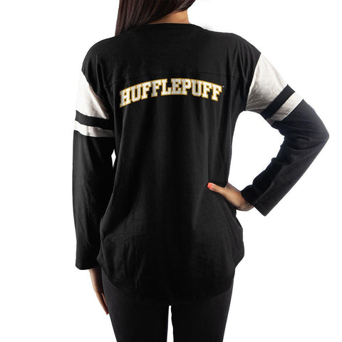 Harry Potter Womens Hufflepuff Long Sleeve Shirt