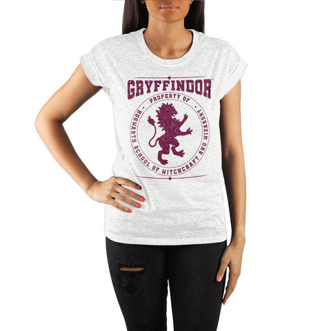 Hogwarts Gryffindor Womens Short Sleeve Shirt