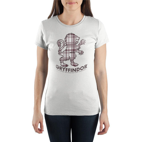 Hogwarts Gryffindor Graphic Tee Womens Clothing