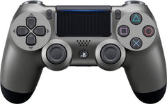 PS4 DUALSHOCK 4 WIRELESS CONTROLLER (STEEL BLACK)