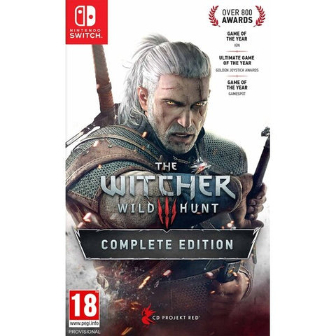 WITCHER 3: WILD HUNT COMPLETE ED. - NINTENDO SWITCH REGION FREE
