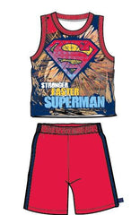 Superman Stronger Faster Boy's Sportswear