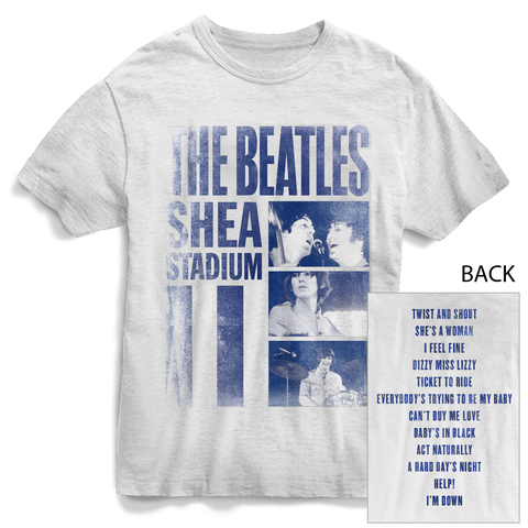 THE BEATLES | SHEA STADIUM T-SHIRT