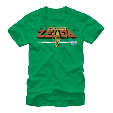 Original Zelda Title - T Shirt