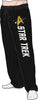 Star Trek Emblem Black Quick turn Lounge Sleep Pants
