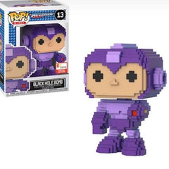 Funko POP! 8-Bit: Mega Man - Black Hole Bomb Mega Man - E3 2018 Limited Edition