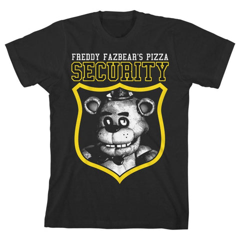 Five Nights at Freddy?s Security Guard Boys T-shirt