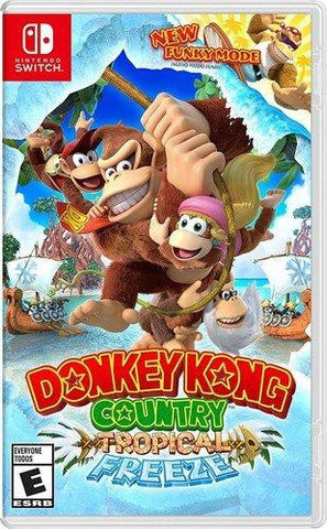 Donkey Kong Country: Tropical Freeze - Nintendo Switch $54.99