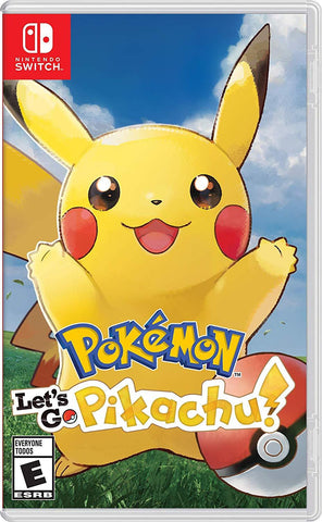 Pokemon: Let's Go, Pikachu! - Nintendo Switch