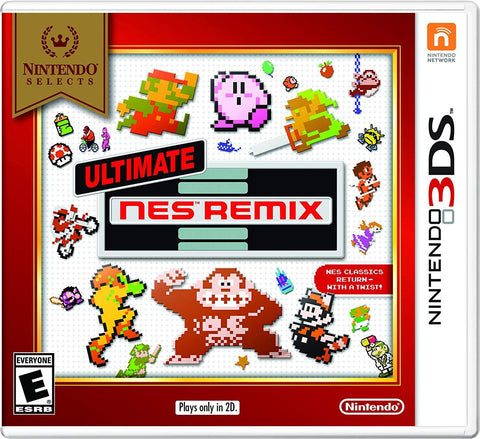 Nintendo Selects: Ultimate NES Remix - 3DS