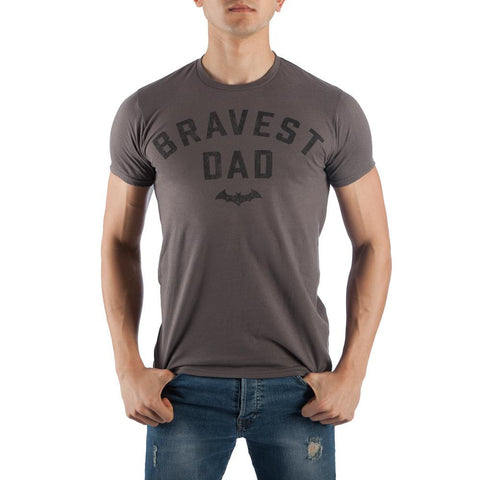 Batman Bravest Dad T-shirt Tee Shirt