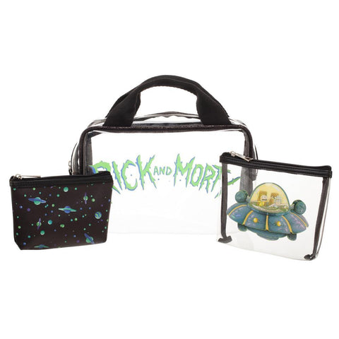 Rick and Morty Makeup Bag Rick and Morty Accessories Rick and Morty Gift
