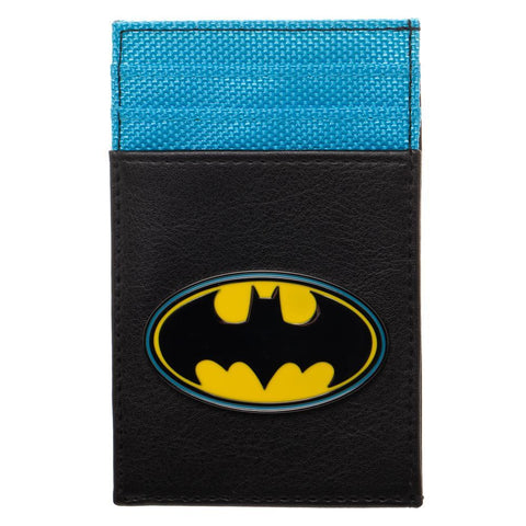 Front Pocket Wallet Batman Accessory DC Comics Gift - Batman Wallet DC Comics Accessories Batman Gift