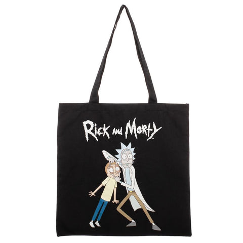 Rick And Morty Canvas Tote Bag