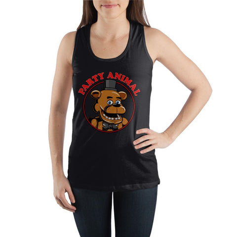 Party-Animal-Freddy-Fazbear-Graphic-Tank-Top