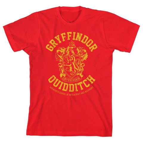 Boys Gryffindor Shirt Youth Quidditch Apparel for Boys